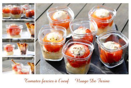 Tomates farcies à l'oeuf Multi-Délices