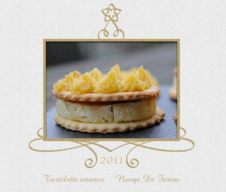 Tartelettes à l'ananas