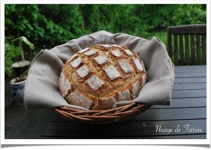 Levain et pain de seigle
