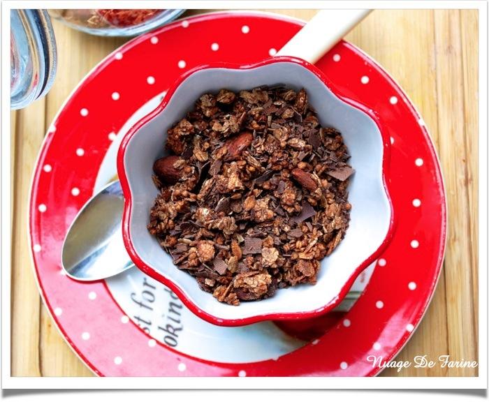 Granola chocolaté