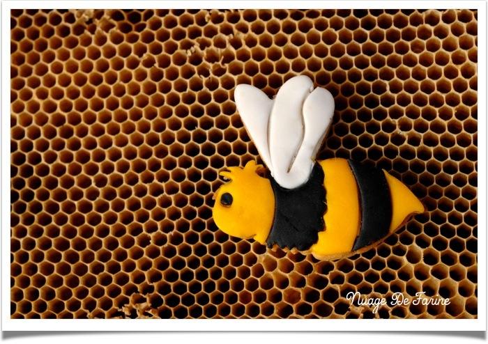 Les sablés qui se prenaient pour des abeilles