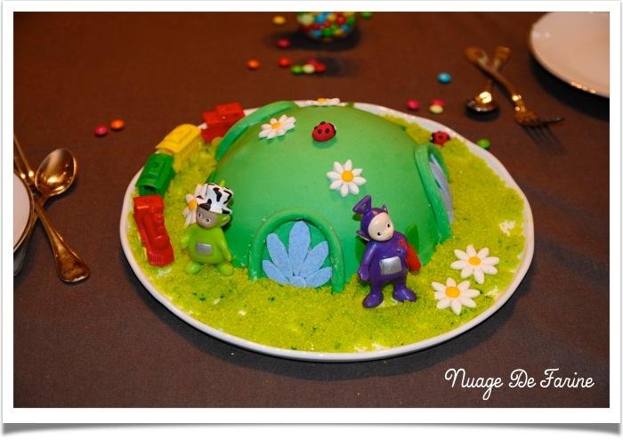 Gâteau Télétubbies