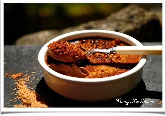 Crèmes brûlées au chocolat