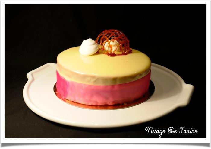Parce qu'on n'est jamais aussi bien servi que par soi-même… le gâteau PAM (poire, amande, mousse au chocolat )