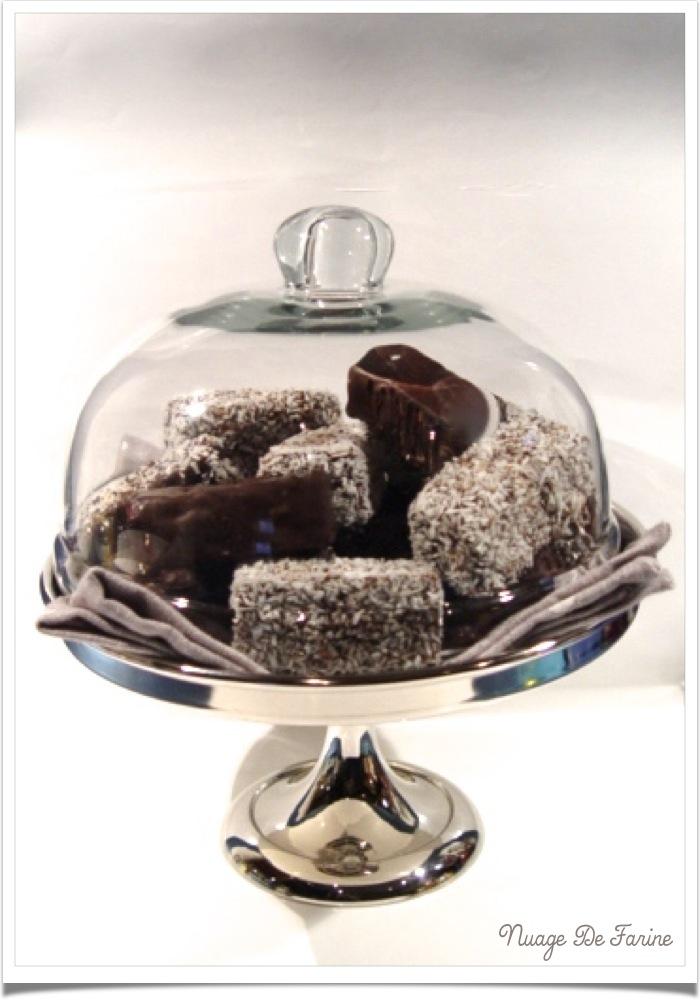 Lards à la vanille et chocolat et/ou noix de coco