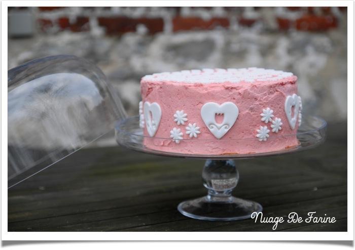 Gâteau rose1