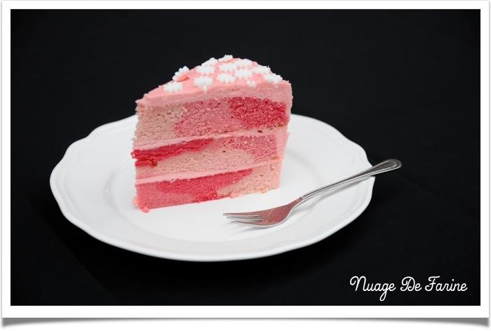 Gâteau rose5