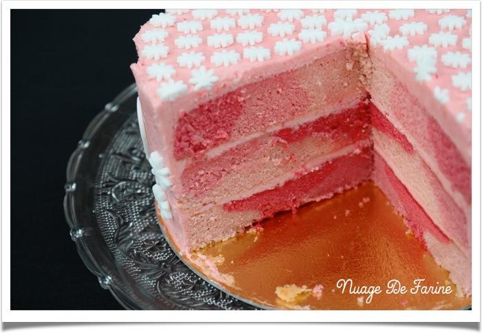 Gâteau rose4