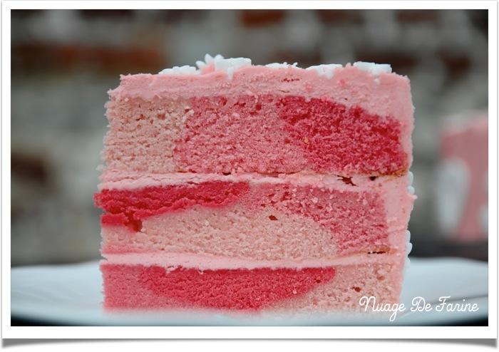 Gâteau rose6
