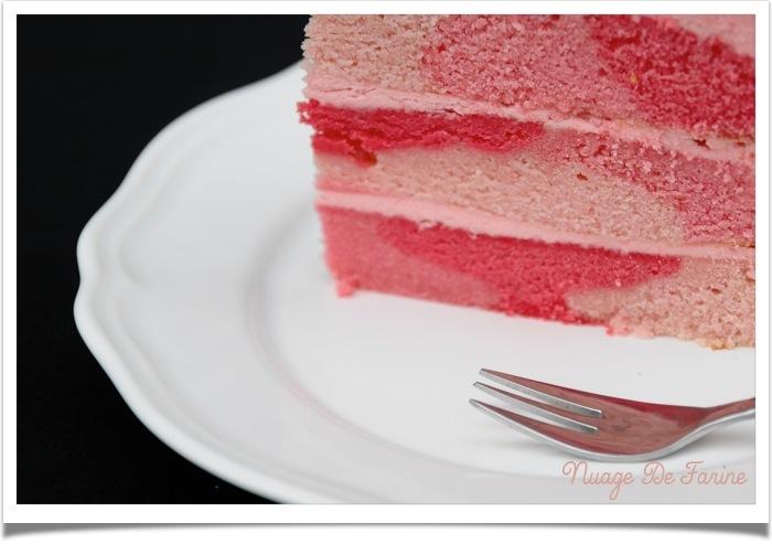 Gâteau rose7