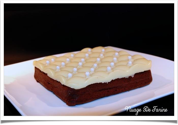 Gâteau chocolat marron