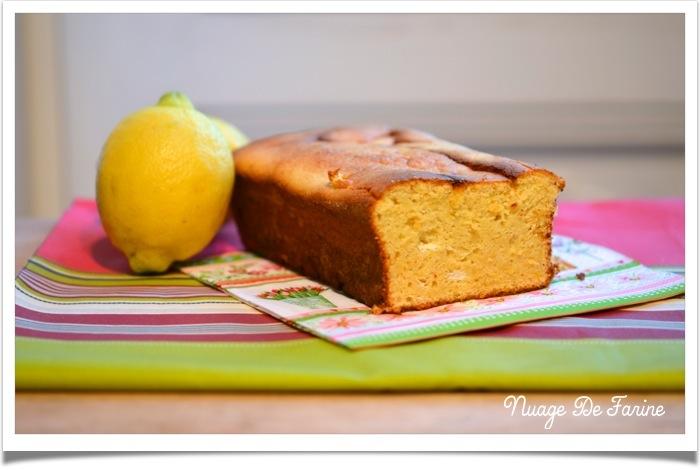 Cake au citron sans produits laitiers