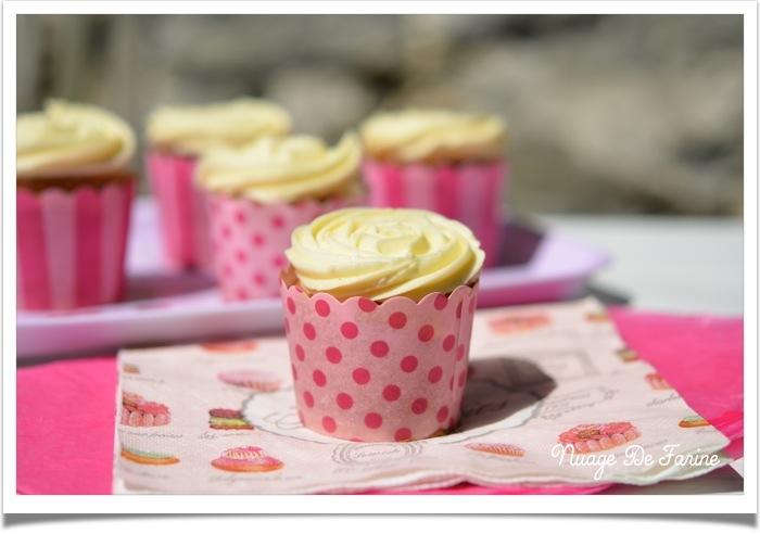 Cupcakes à la vanille tout simplement…