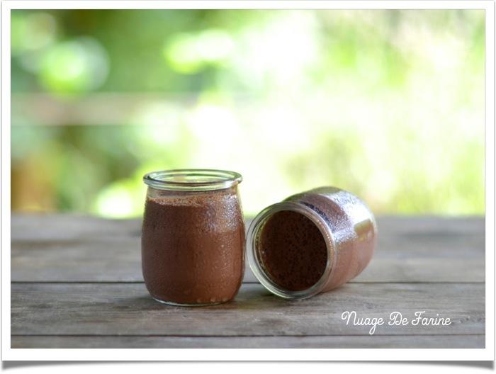 crèmes renversées sans oeufs chocolat2