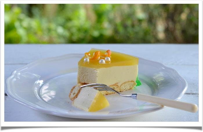Bavarois citronné4