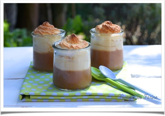 Mousse de pomme meringu e nuage de farine - Recette dessert rapide thermomix ...