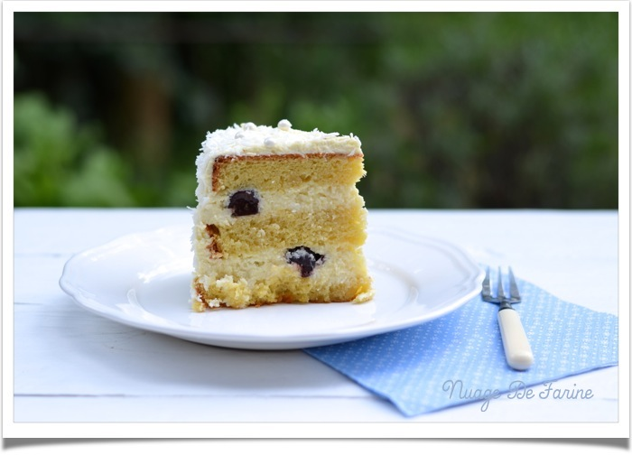 Le gâteau blanc