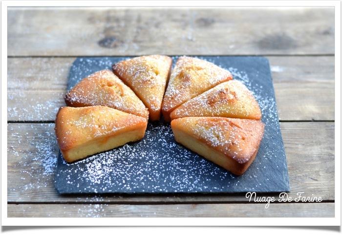 Gâteau aux amandes et clémentines