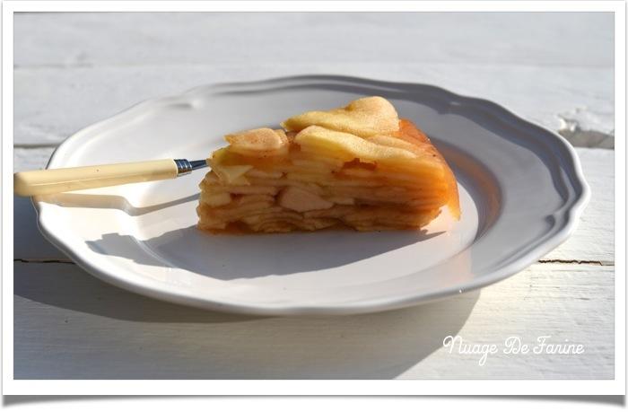 Mille feuilles de pommes sans pâte2