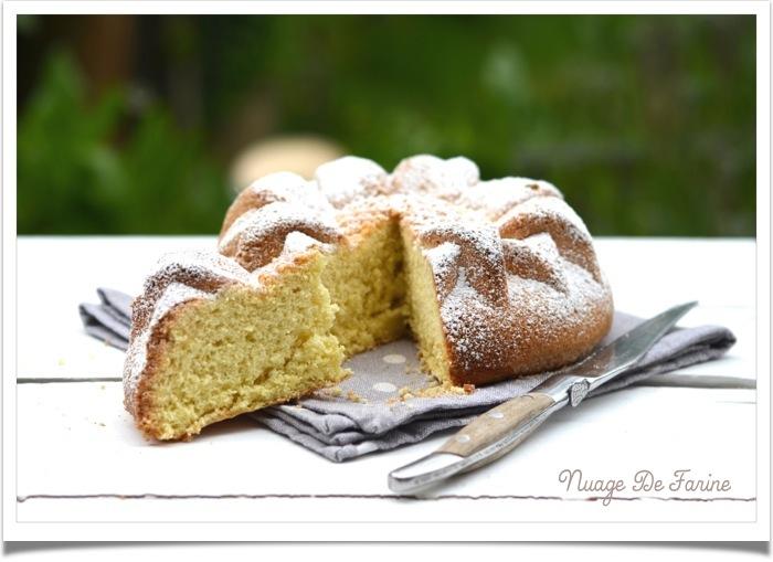 Gâteau léger, léger, léger….. de Savoie