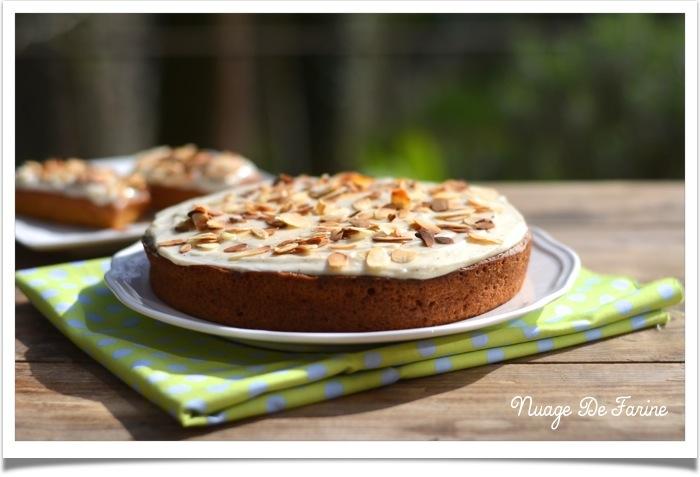 Carrot cake à la suédoise …Morotskaka si vous comprenez le suédois….