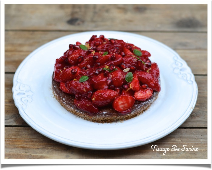 Tarte aux fraises6