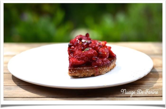 Tarte aux fraises5