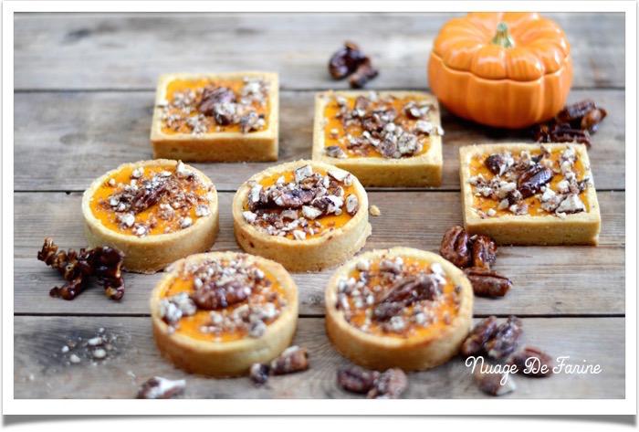 Pumpkin pie / tartelettes au potimarron