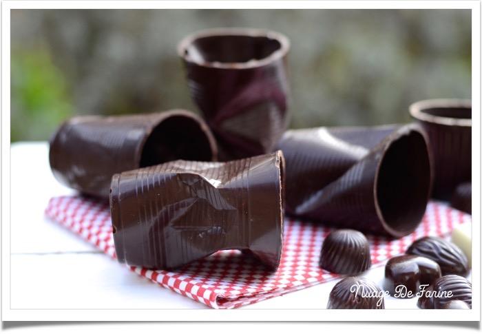 Gobelets chocolat