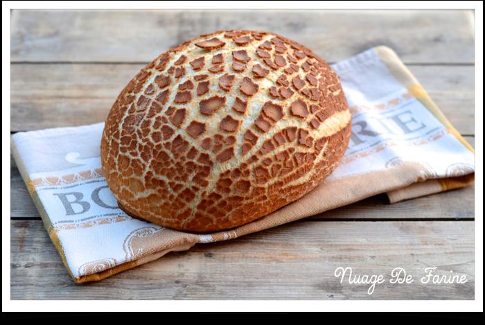 Après le cake qui se prenait pour un zèbre, voici le pain qui rêvait d'être léopard….ou tigre? ou girafe?