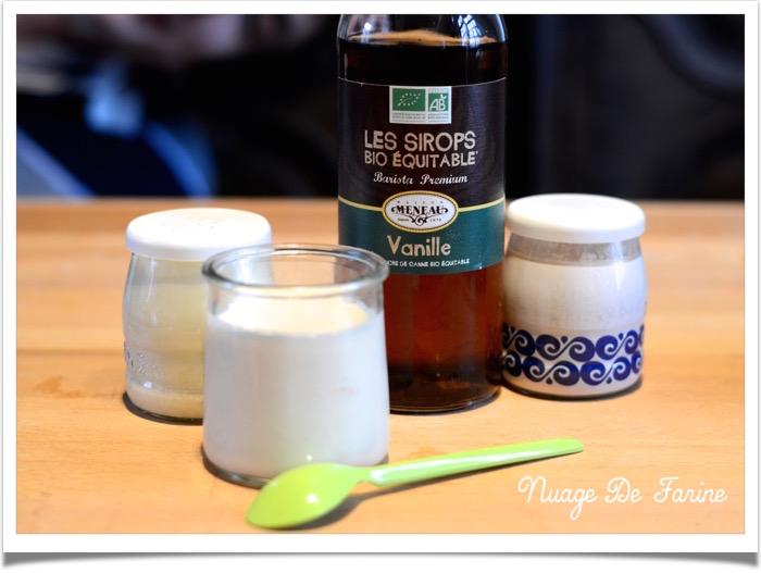 yaourts vanille
