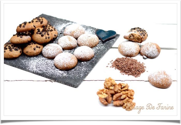 Biscuits aux noix sans oeufs