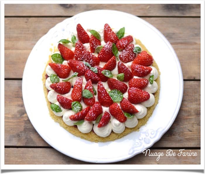 Féérique aux fraises…..