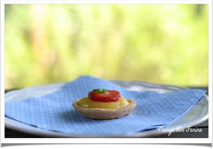 Tartelettes/barquettes fraise ou citron7