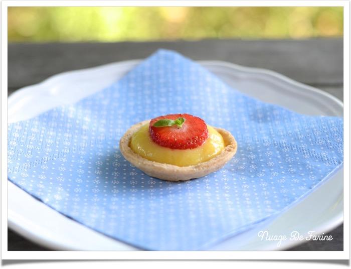 Tartelettes/barquettes fraise ou citron2