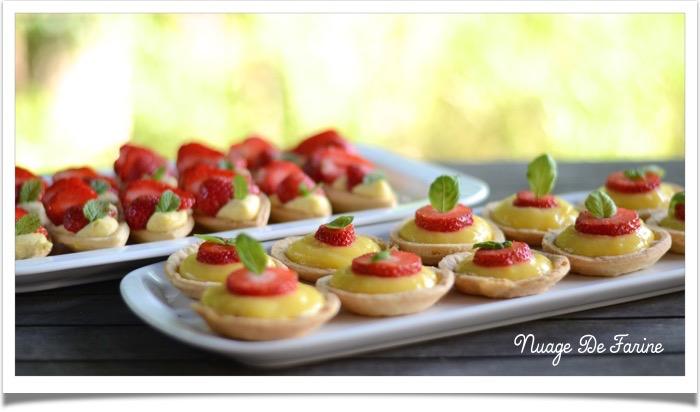 Tartelettes/barquettes fraise ou citron6