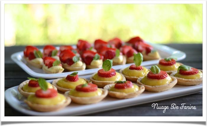 Tartelettes/barquettes fraise ou citron4