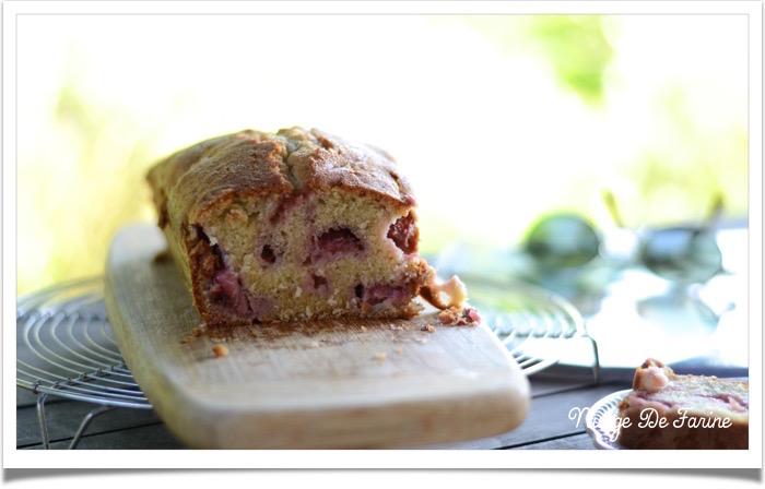 Cake aux fraises2