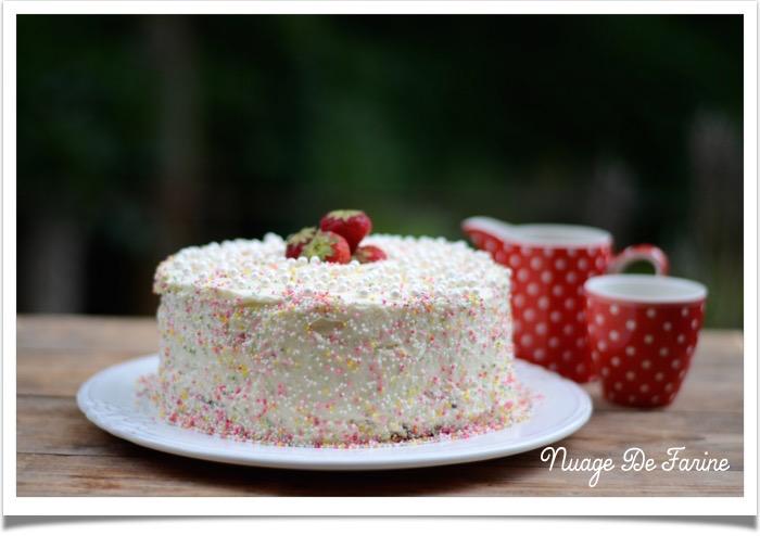Gâteau Red velvet