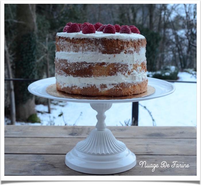 Happy birthday et son gâteaux chiffon