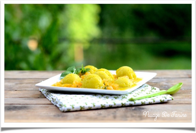 sorbet mangue orange
