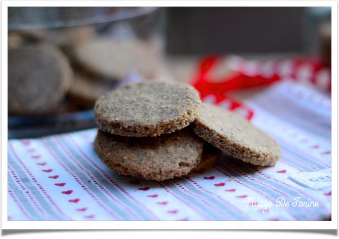 Biscuits aux graines style Sablés des prés