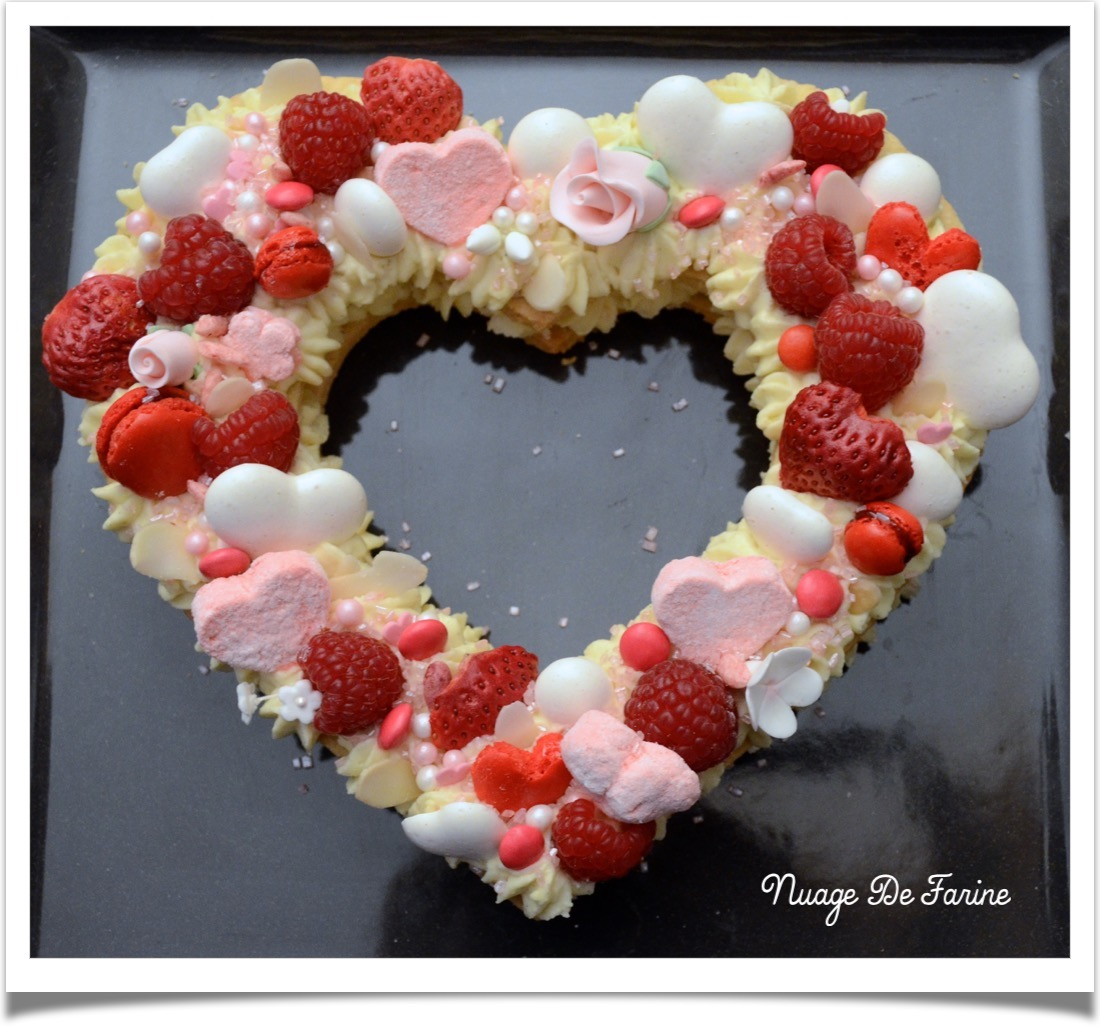 Number cake … Heart cake….