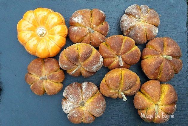 Petits pains au potimarron