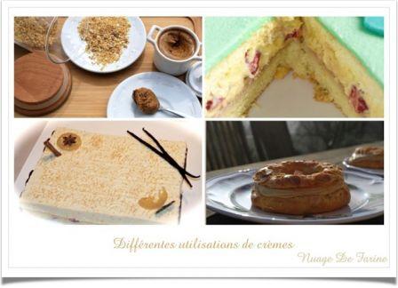 Crème pâtissière toute simple et ses variantes