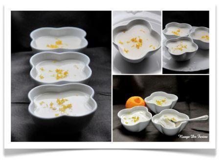 Petites crèmes au citron Bergamote
