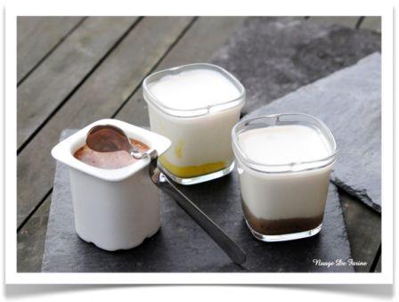 Yaourts au Bergamote curd, à la crème de marrons ou aux barres chocolatées Multi-Délices