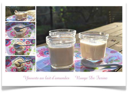 Yaourt au lait d'amandes