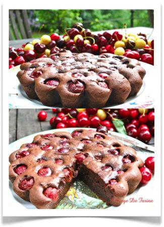 Cerises dans le gâteau…au chocolat!