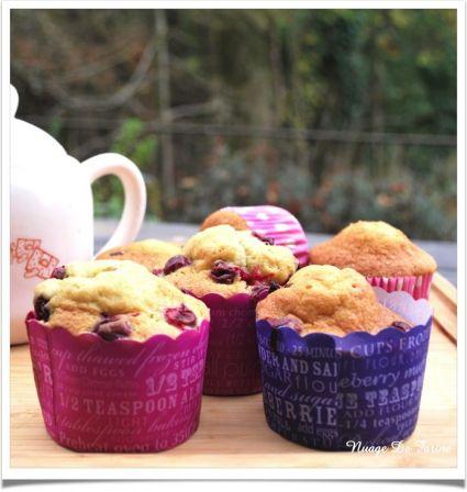 Muffins aux airelles